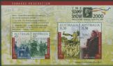 AUS SGMS1981 Centenary of Commonwealth of Australia Constitution Act with Stamp Show overprint